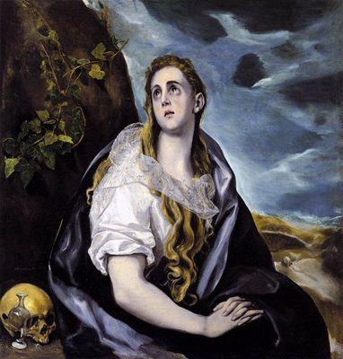 Maria Magdalena penitente El Greco