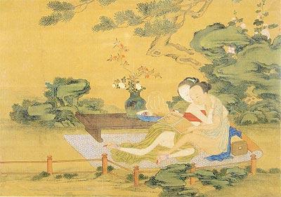 Pintura china erotica