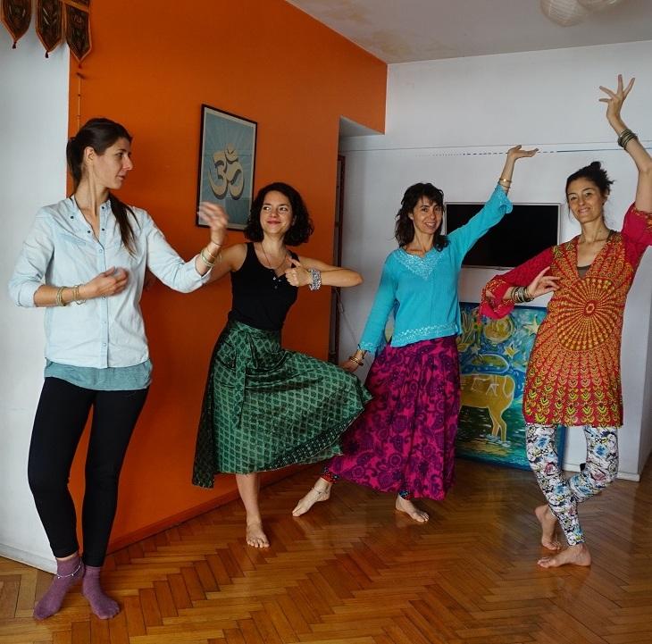 Bollywood entrenar el suelo pélvico