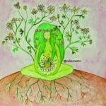 Sagrado Femenino - Periné - Julia Larotonda_ Mujer-diosa