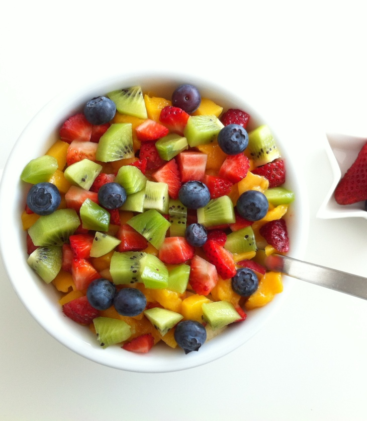 Miam de frutas Luchar contra obesidad y estreñimiento
